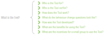 Who is the Tool for?